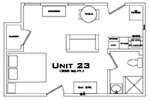 107 Adams Floorplan 1